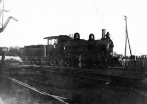 Patterson-McInnis Locomotive early 1900's