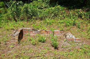 Ruins at Hampton Springs Hotel Site