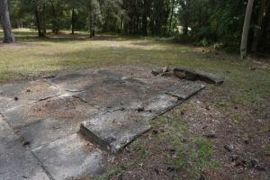 Foundation at Hampton Springs Hotel Site