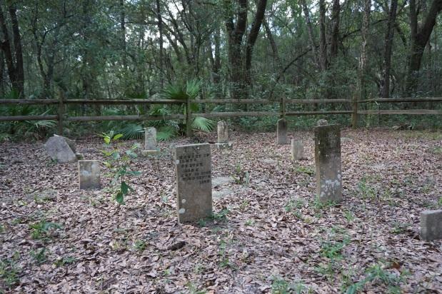 Exploring Alto Cemetery in Half Moon Wildlife ManagementArea