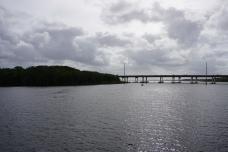 View from Bridge Interstate 4 in Distance