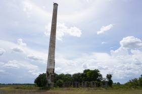 Smoke Stack and Power Plant Remains