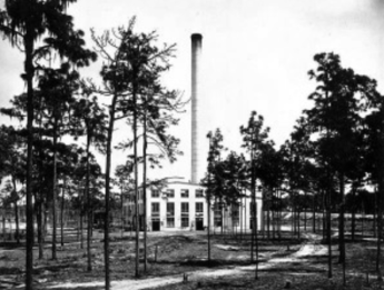 Power Plant and Stack in 1920