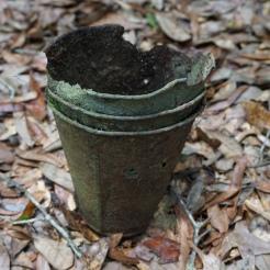 Galvanized Metal Turpentine Cup