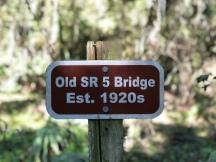 S.R. 5 Bridge Sign
