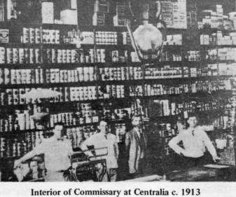 Commissary at Centrailia