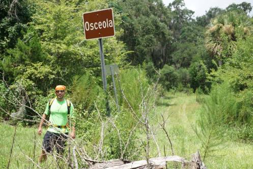 Trail at Osceola Ghost Town