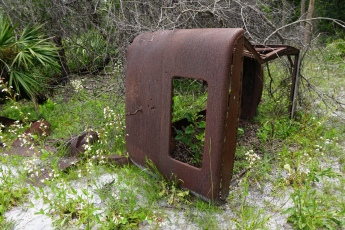 Old Vehicle Remains at Homestead
