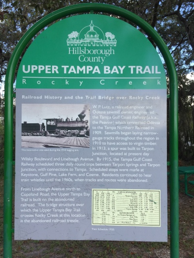 Sign along Trail