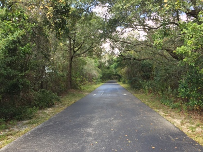 Paved Trail (Old Railroad Line)