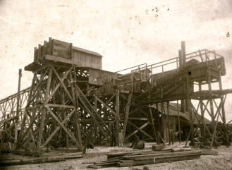 Dunnellon Phosphate Mine early 1900's