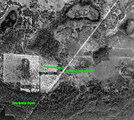 1930's Aerial View Gordon Grade
