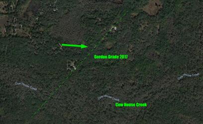 2017 Aerial View of Gordon Grade