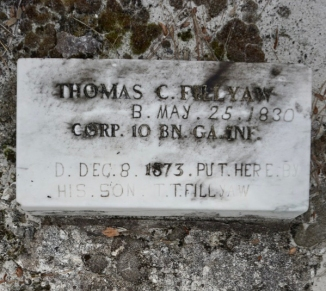 Thomas C. Fillyaw Gravesite in Ocala National Forest