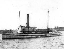 Steamboat at St. Francis