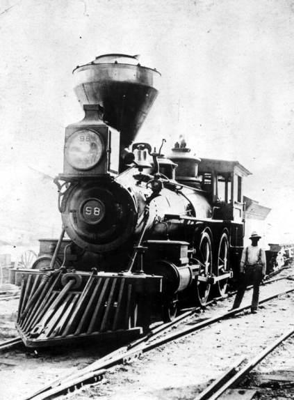 Train at St. Francis